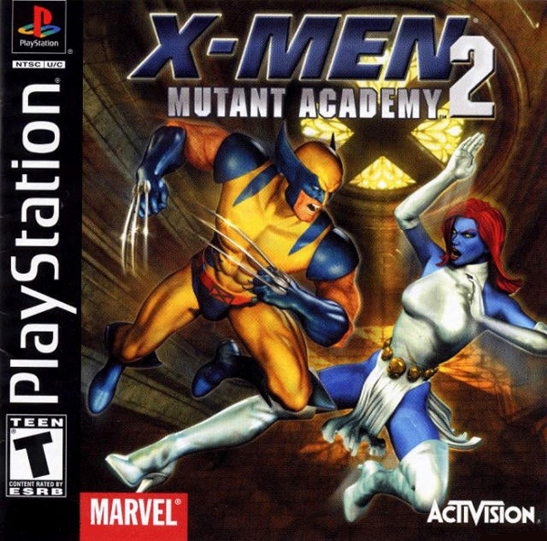 X-Men - Mutant Academy 2 [U] Front Cover